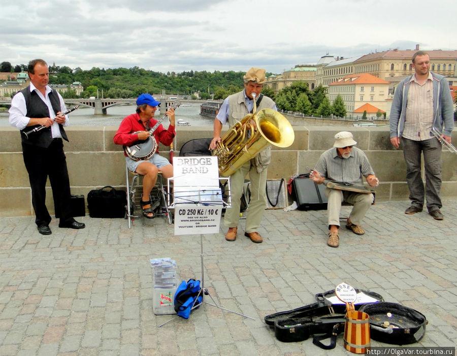 Великолепный ансамбль «Bridge band»
