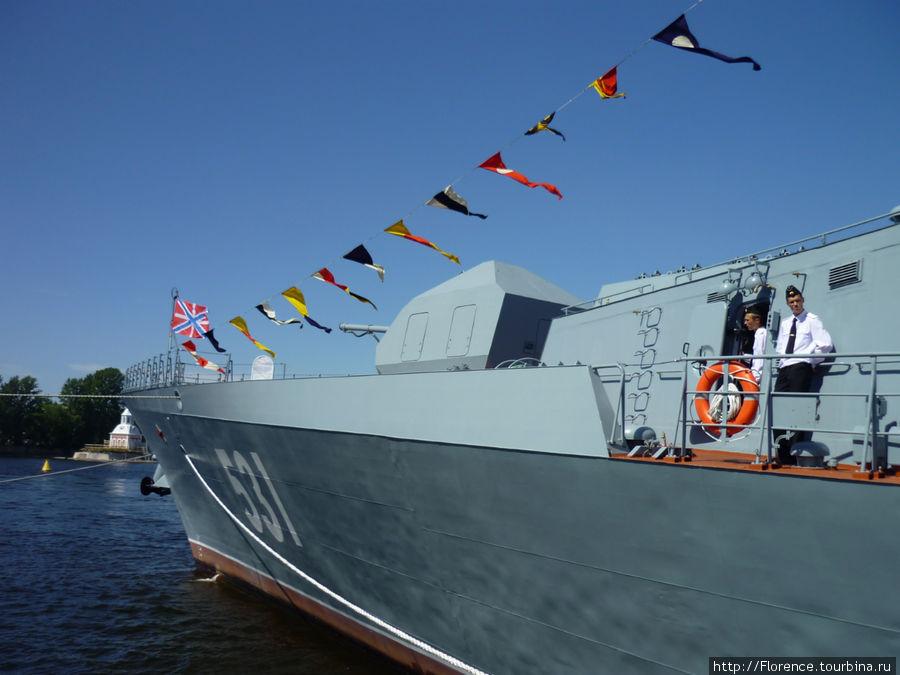 Самый большой из российских кораблей