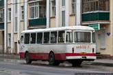 Зато все остальное фотографировать можно без опасений. Например, автобусы. Иногда здесь встречаются даже ЛиАзы, правда они не местные, а из расположенного недалеко закрытого города Заречный. Что там находится — не скажу, это тоже стратегический объект :)