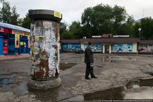 У вас может сложиться впечатление, что в Пензе все раздолбано. Не больше, чем в других городах России, а мрачные краски добавляет погода.