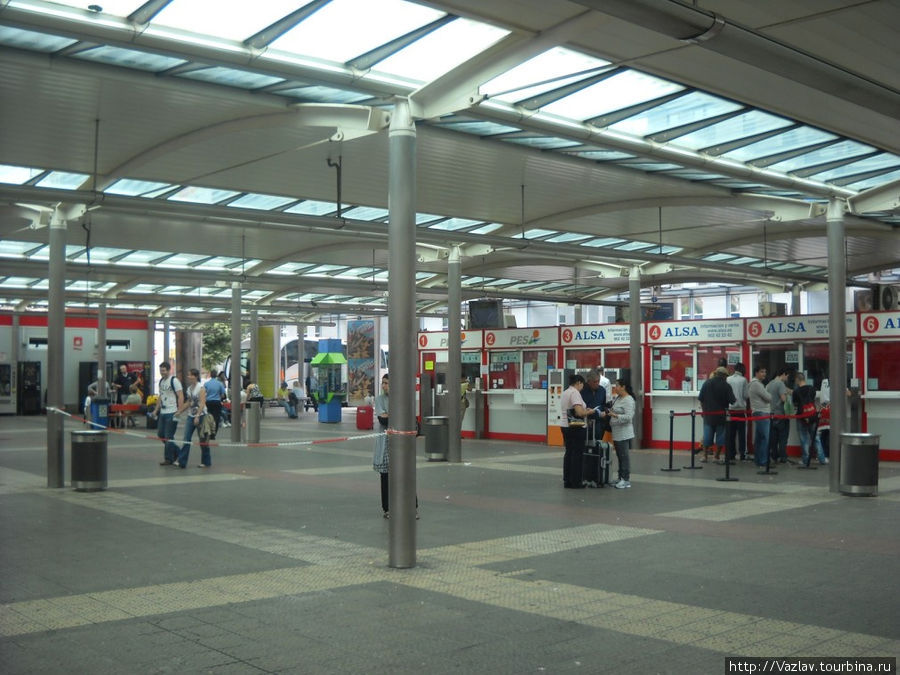 Панорама автовокзала