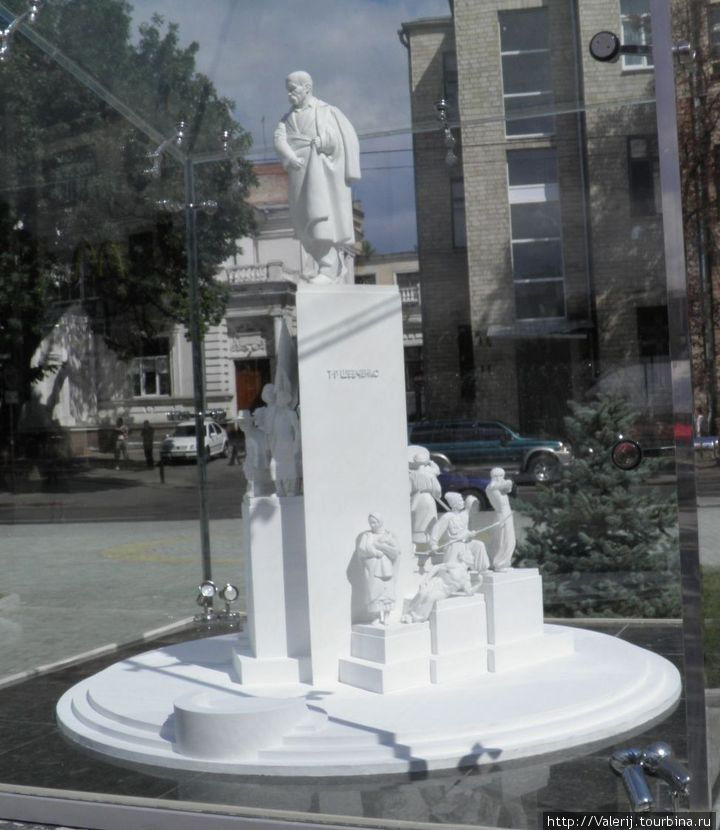 Макет памятника Тарасу Шевченко