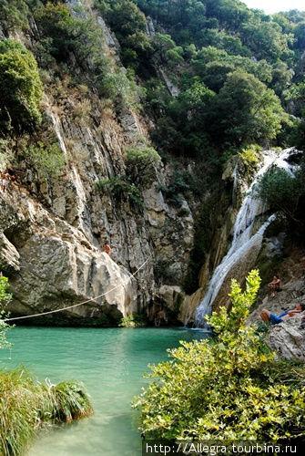 Это самый высокий водопад..