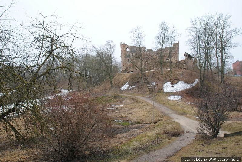 Вид на развалины