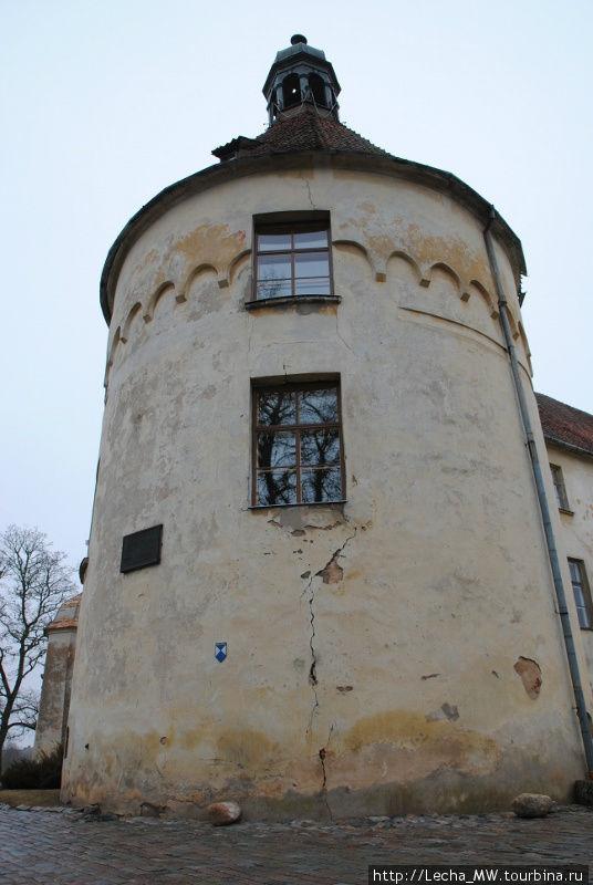 Главная башня замка