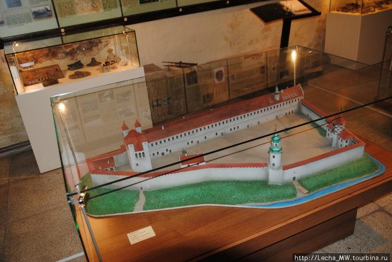 Макет замка Долбен(Добельский замок)