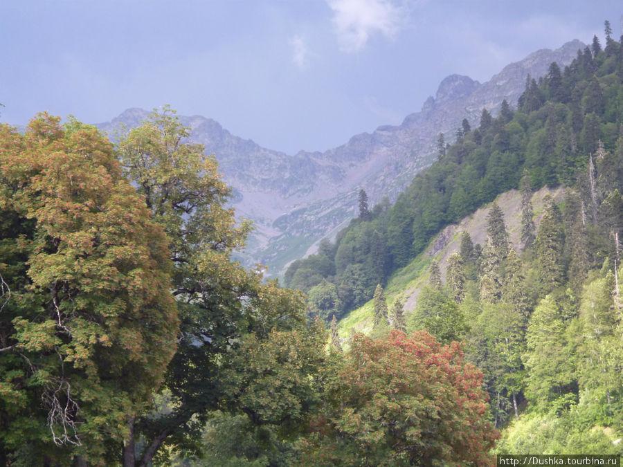 В горах. Фото друзей.2011г.
