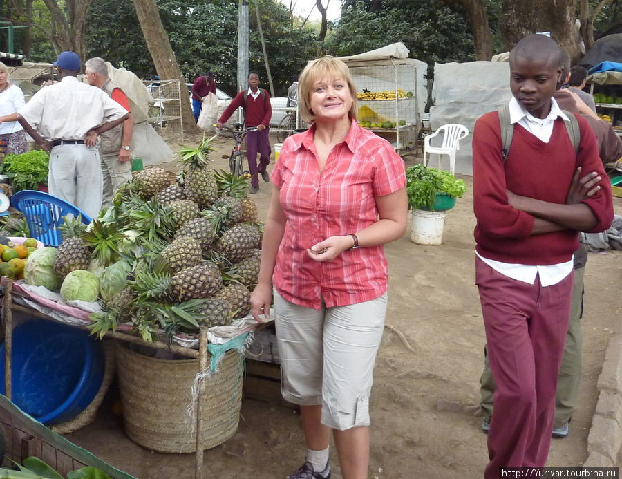 В Африке есть хороший выб