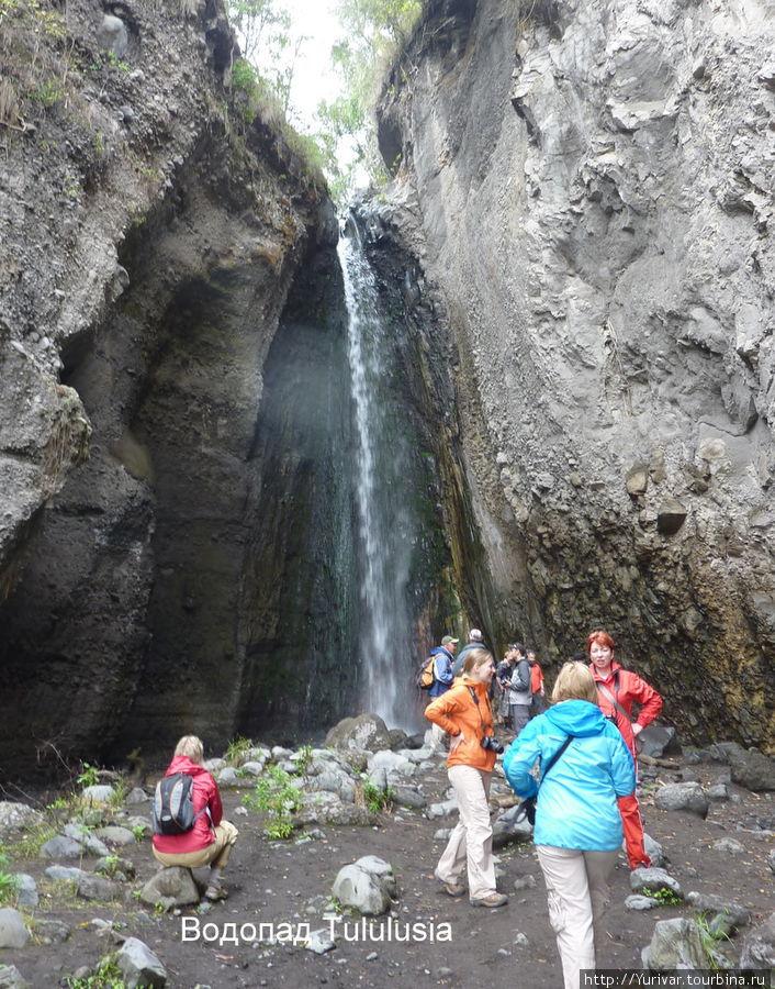 Водопад Tululusia