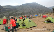 Лагерь Барранко -4000 м.