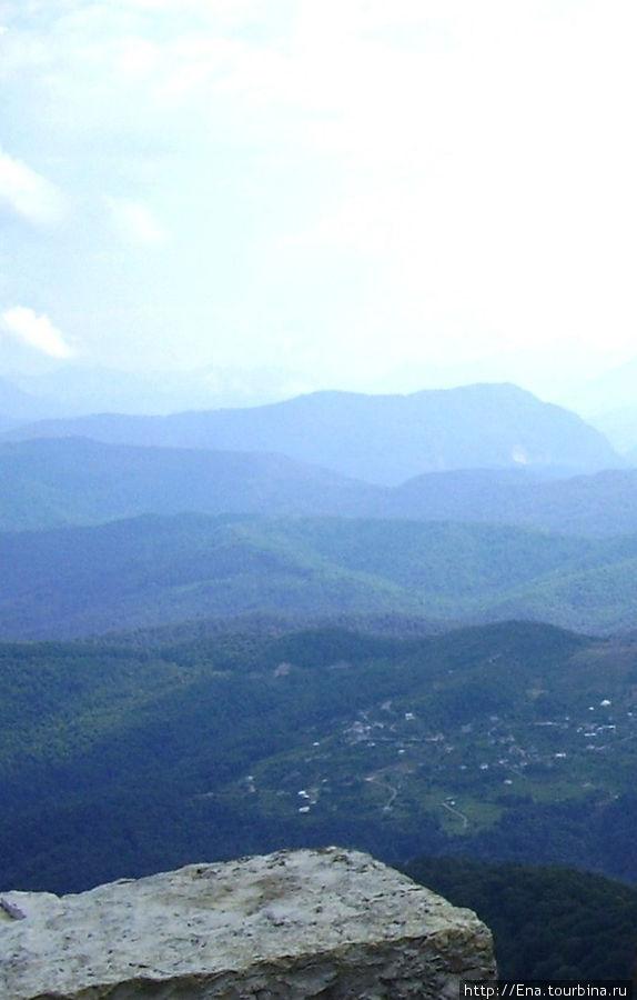 Сочи-2006. Вид с горы Ахун