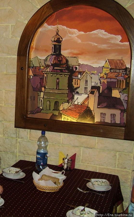 Сочи-2006. Обед в пивном ресторане