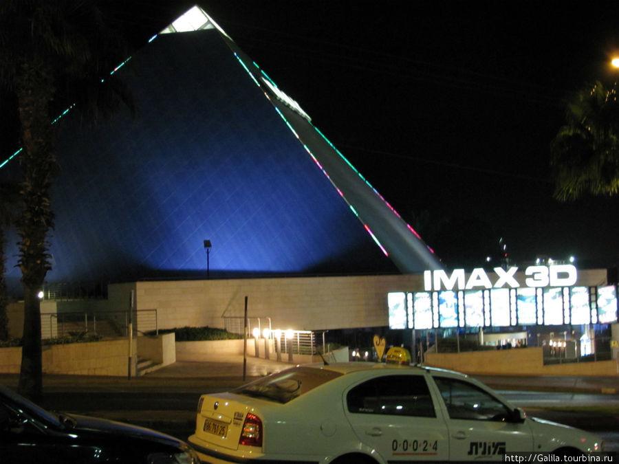 IMAX-стерео кинотеатр и выставка восковых фигур.