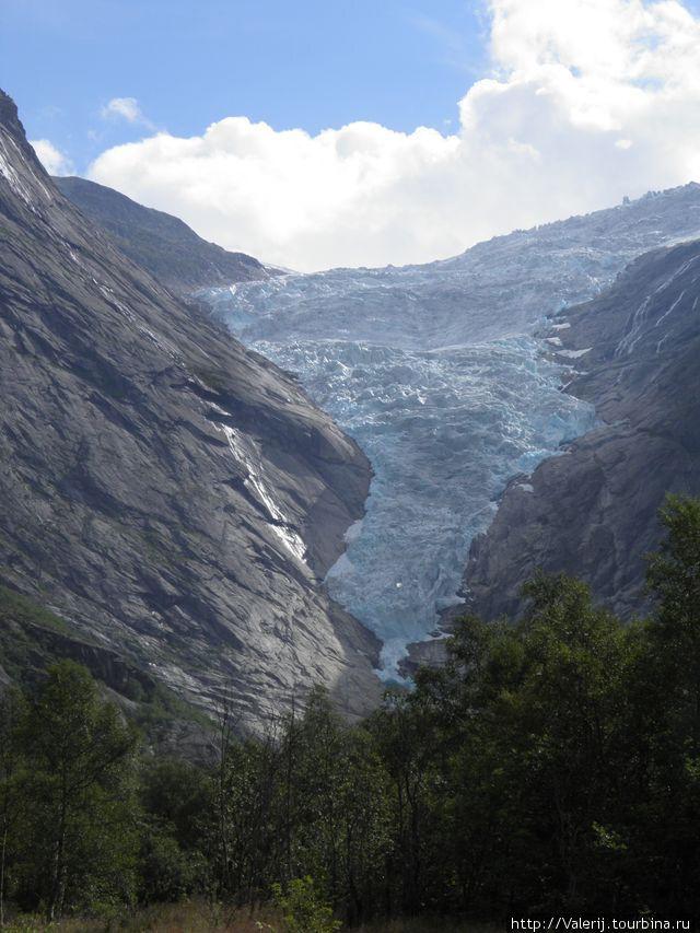 Их величество ледник Бриксдаль