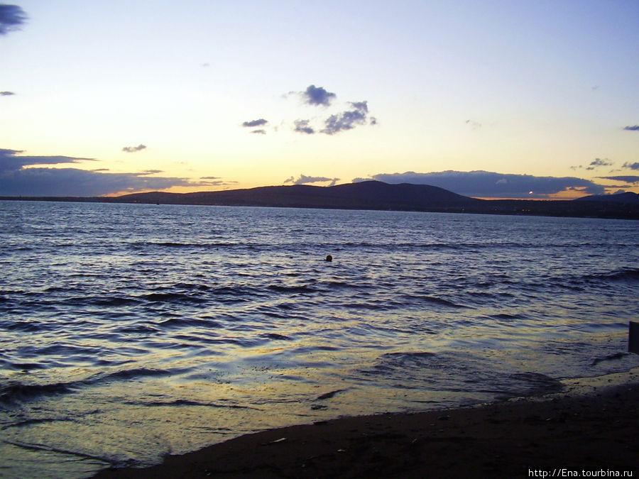 Экскурсия в Геленджик. Вечернее море
