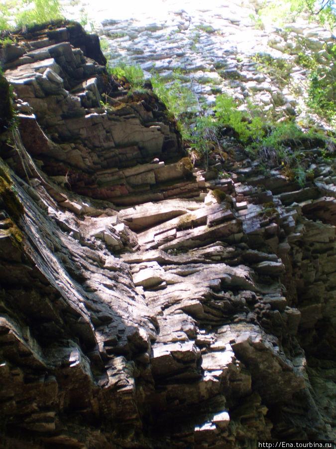 Экскурсия на Пшадские водопады. Горные морщинки