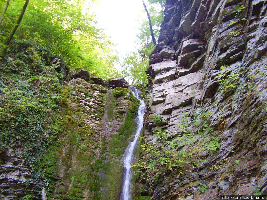Экскурсия на Пшадские водопады. Большой Медвежий водопад