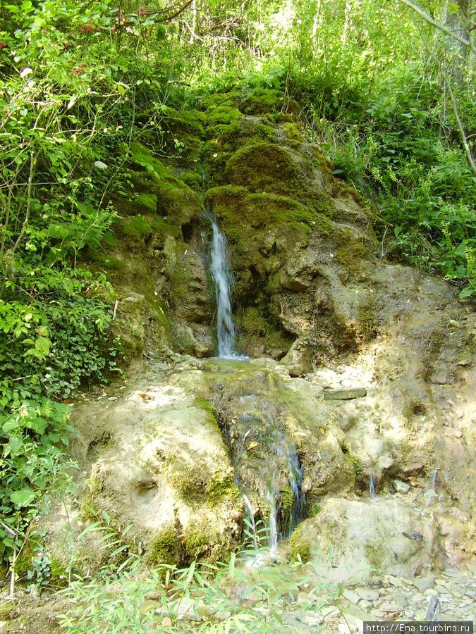 Экскурсия на Пшадские водопады. Малый водопад