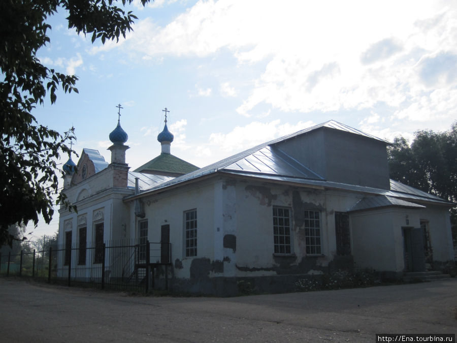 Никольская церковь с другого ракурса