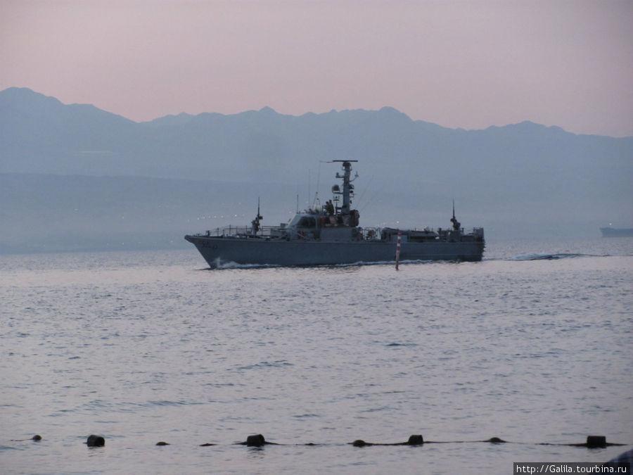 Израильский сторожевой корабль.