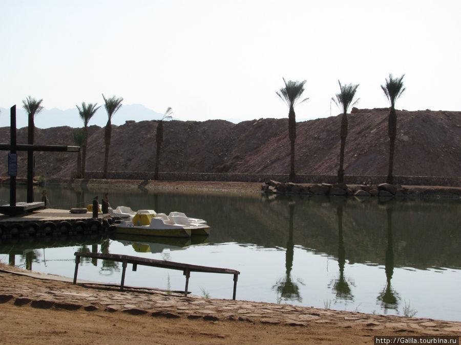 Катамараны на озере.