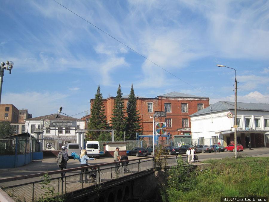 Корпуса Гаврилов-Ямского льнокомбината (бывшей фабрики купцов Локаловых)