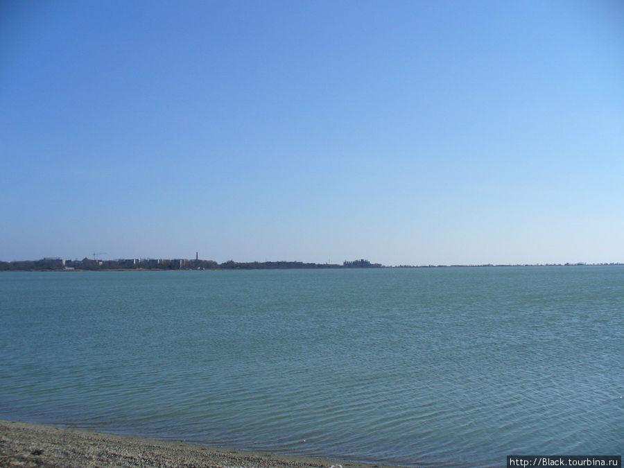 Правая часть озера