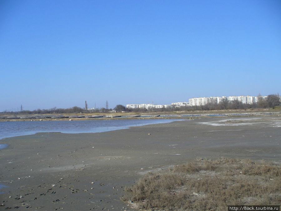 Регенерационные бассейны грязевого хозяйства водолечебницы «Мойнаки»