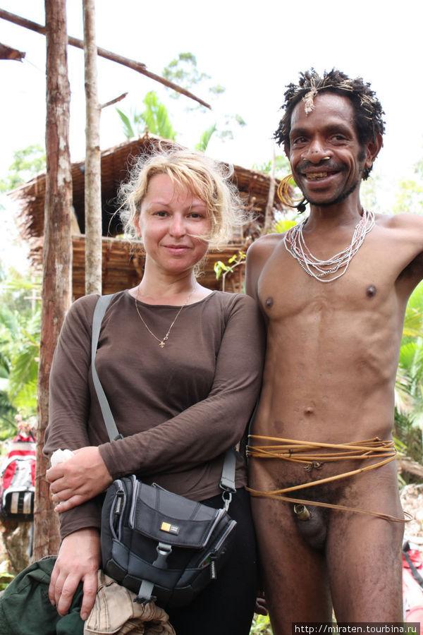 Экспедиция к короваям, Папуа, январь 2010