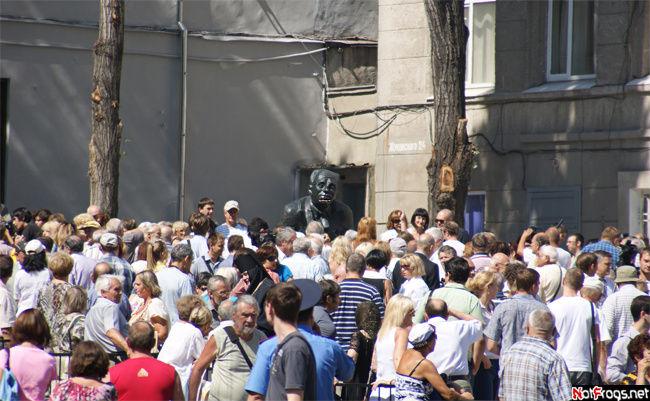 Открытие памятника И. Бабелю