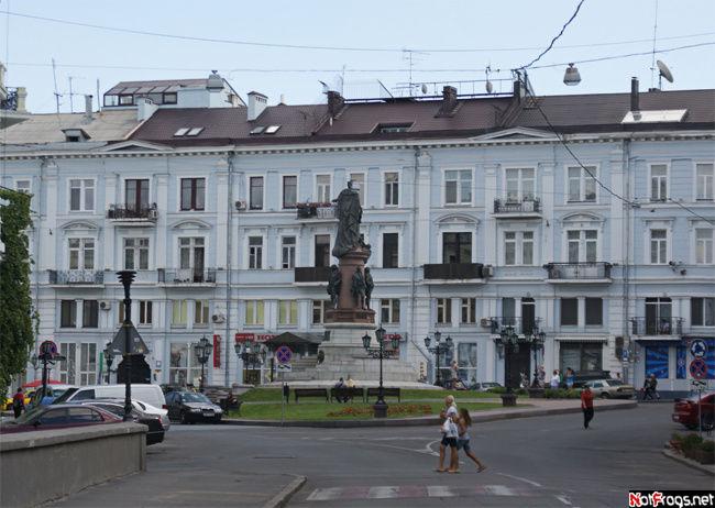 Вид на Екатеринискую площадь