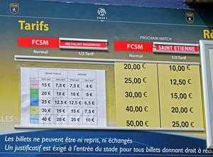 немного даже обидное открытие, цены на билеты на наш матч были ниже, чем на следующую игру во французской La Liga с Сент-Этьеном