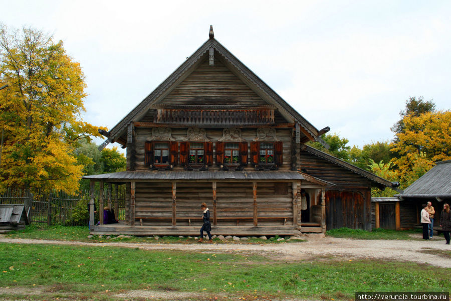 Изба Екимовой Марии Дмитриевны из д.Рышево Новгородского района