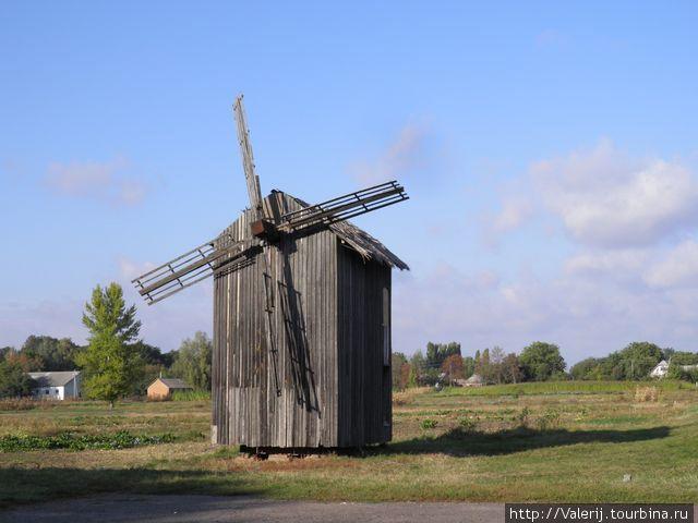 Ветряная мельница — как напоминание о вечном.
