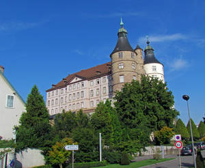 Chateau de Montbéliard, the castle of the Dukes of Württemberg