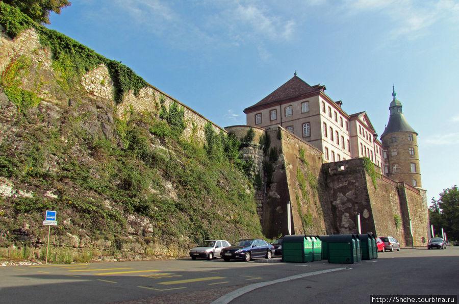 последняя точка, с которой видно замок
