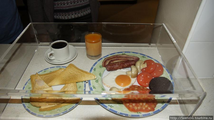 В традиционном английском завтраке ничего не меняется.