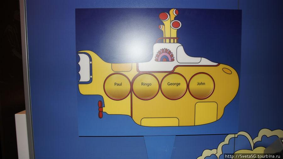 Желтая подводная лодка.