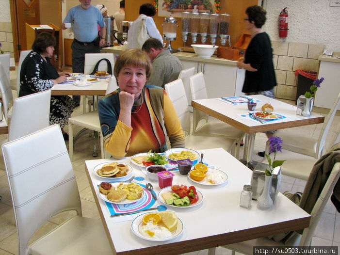 Завтрак в отеле Residence
