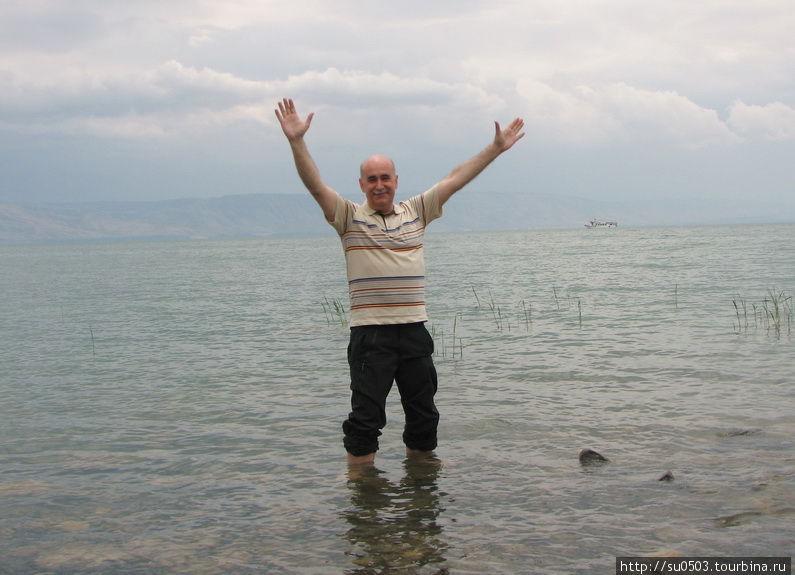 Галилейское море возле Це
