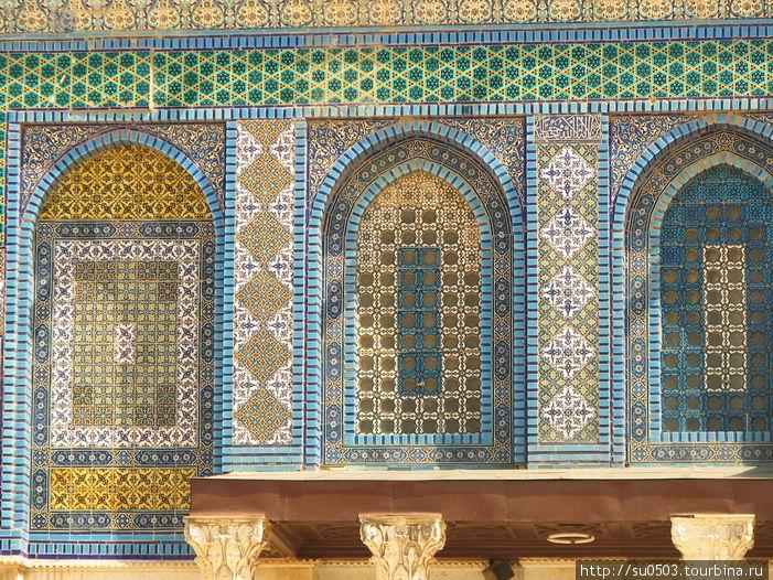 Мозаика на Куполе Скалы