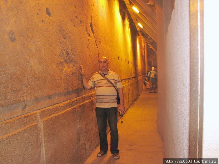 В туннеле Хасмонеев