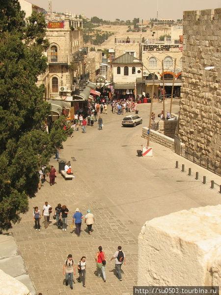 Вид на Старый город с Яфф