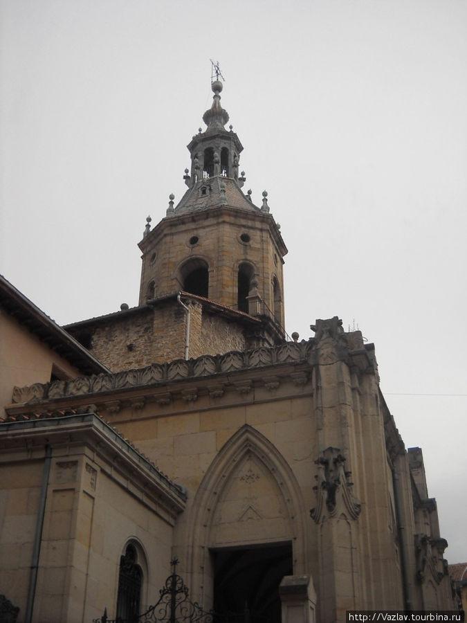 Верхняя часть церкви