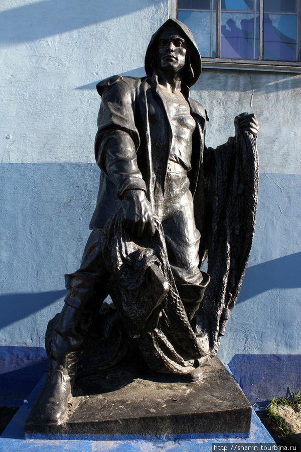 памятник рыбакам в мурманске