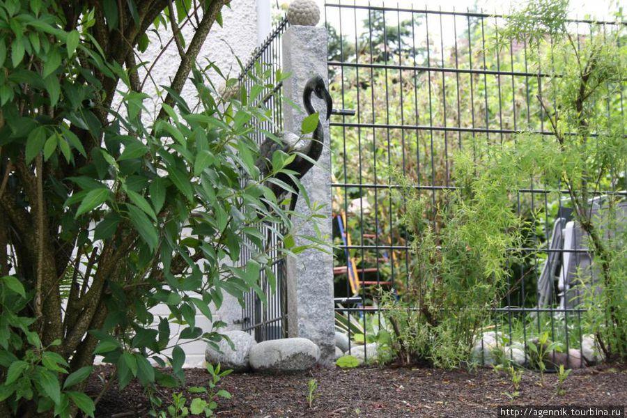 Немцы обожают свои сады и садовые скульптуры