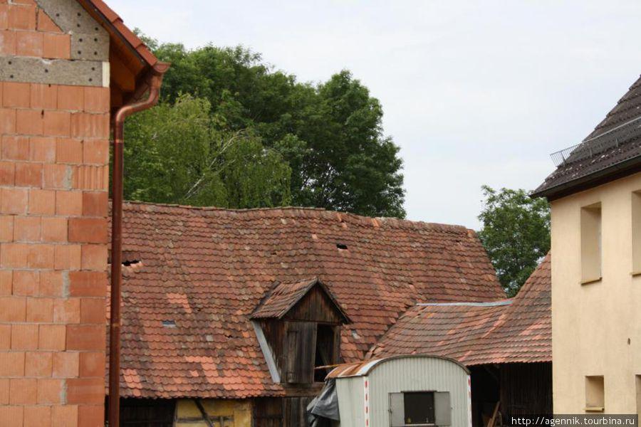 Крыши хозяйственных построек
