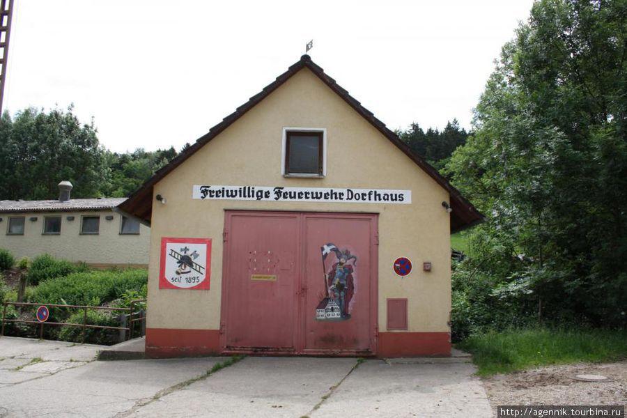 Здание местной добровольной пожарной дружины