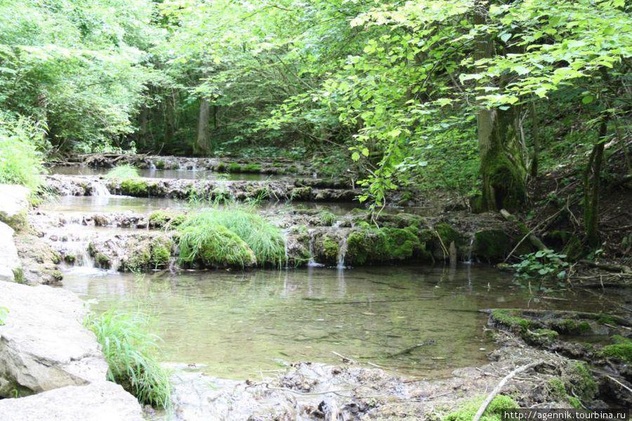 Пороги на реке