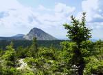 Откликной гребень с горы Круглица. Очень хорошо виден наклон плит